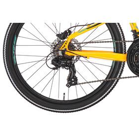 """Serious Rockaway - Vélo enfant - 24"""" Disc jaune/noir"""